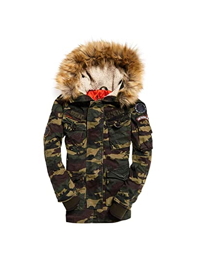 afcff18d823ede Superdry M50003NR Down Jacket Man: Amazon.co.uk: Clothing