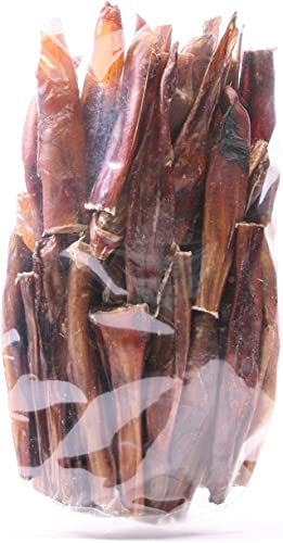 GoGo Beef Pizzle Steer Sticks, 4 inch Steer Sticks, USA Made Dog Treats 50 Pack