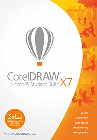 Amazon Com Coreldraw Home Student Suite X7 Download Software