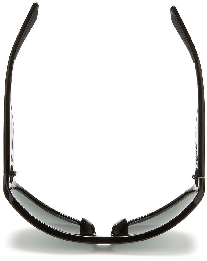 Amazon.com: Quiksilver Mens Pulse Polarized Polarized Sunglasses,Shiny Black Frame/Ocean Lens,one size: Clothing
