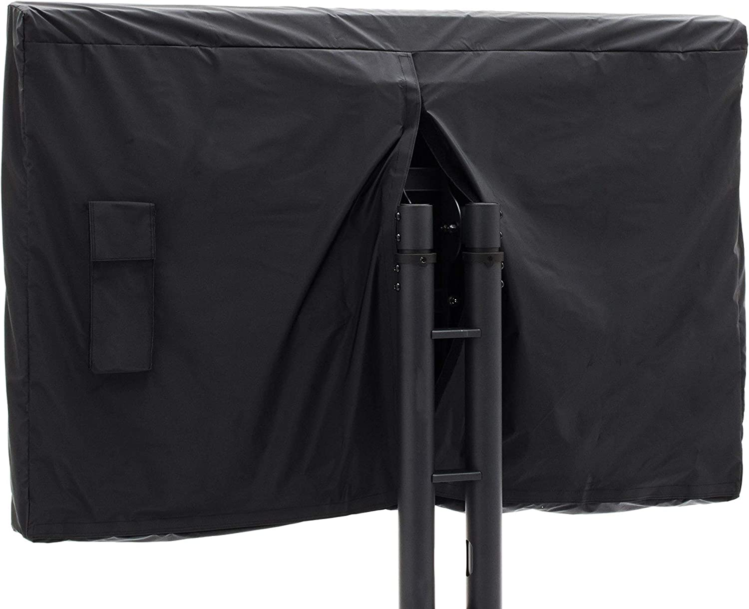 Covermates - Outdoor TV Cover - Fits 46 to 49 Inch TV's - Classic - 12-Gauge Vinyl with Polyester Backing - Full Coverage - Bottom and Back Closures - Water Resistant - Black