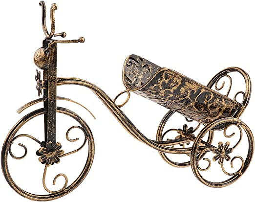 Bicicleta Vintage Vintage Vino Tinto Champán Porta Botellas ...