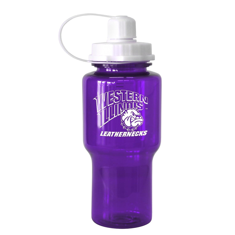 24-Ounce Boelter Brands 282687 NCAA Western Illinois Leathernecks Tritan Travel Mate Water Bottle