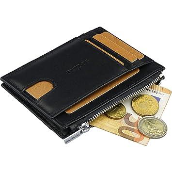 74f9ef76776ec Kleiner Geldbeutel Männer mit Ausweisfach - RFID Blocking Wallet ...