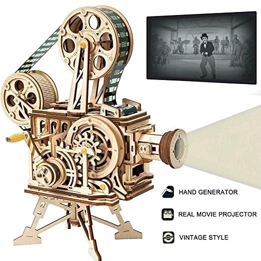 Arvin87Lyly - Kit de Puzzle 3D (Modelo mecánico, proyector de ...