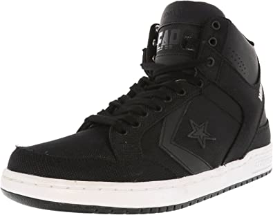 9dffc8dbea9e Converse Weapon Mid Black Black White 40.5  Amazon.co.uk  Shoes   Bags