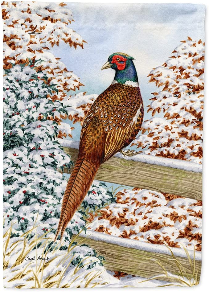 Caroline's Treasures ASA2062GF Pheasant Flag Garden Size, Small, Multicolor