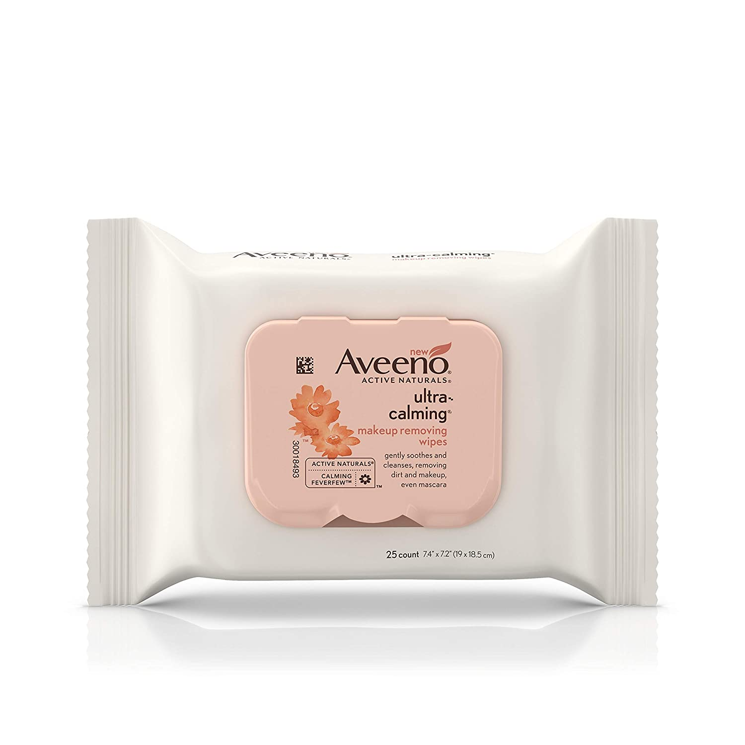 Aveeno Ultra-Calming Cleansing Makeup Removing Wipes, 25 Count usa-iiu-tm25