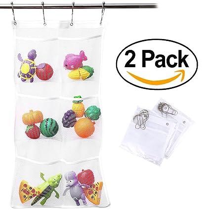 797f359683e Lugii cubo de secado rápido para colgar soporte para bolsa de malla y  organizador de baño ...