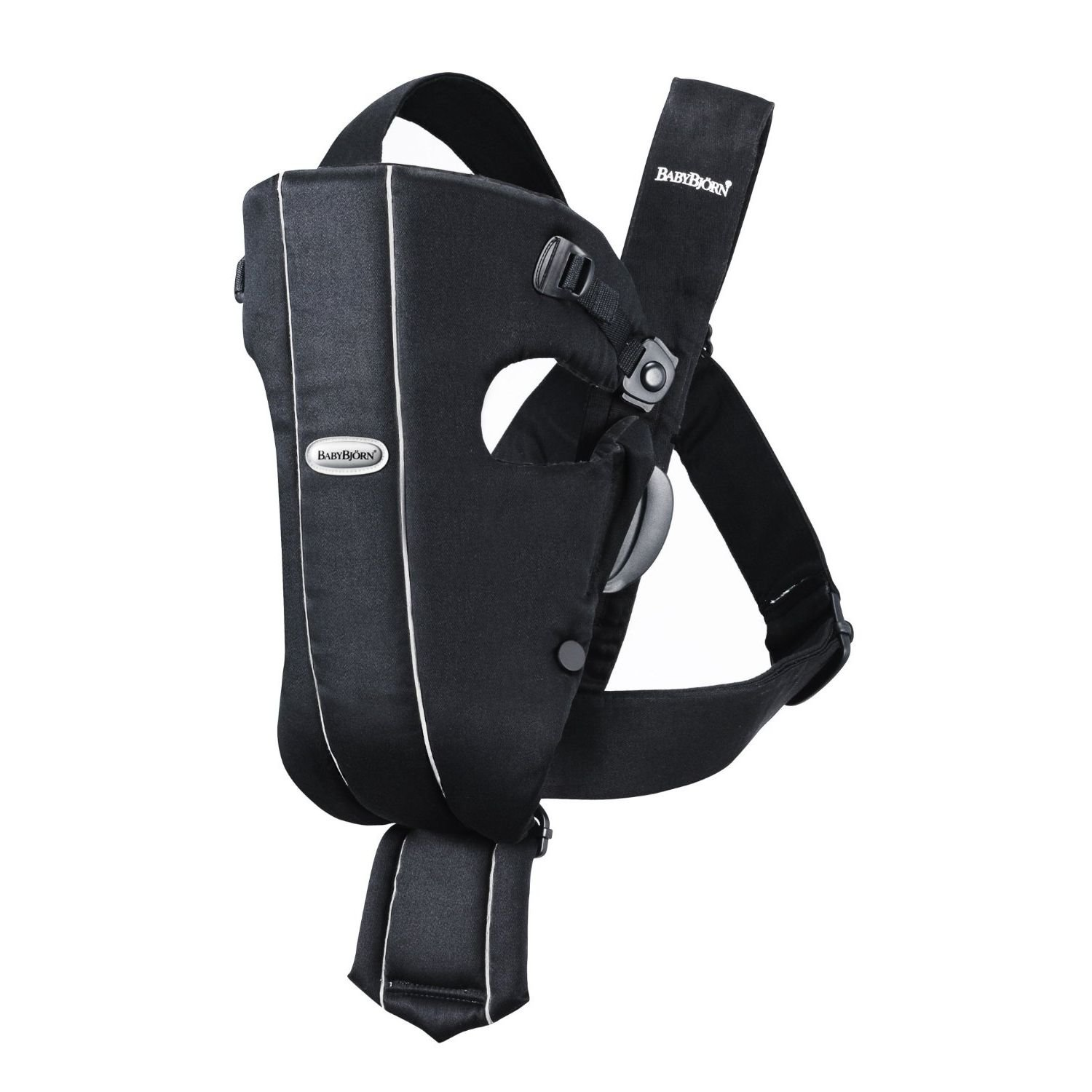 Baby Bjorn 023056US The Original Classic Baby Carrier – 0 Months 8-25 LBS Black