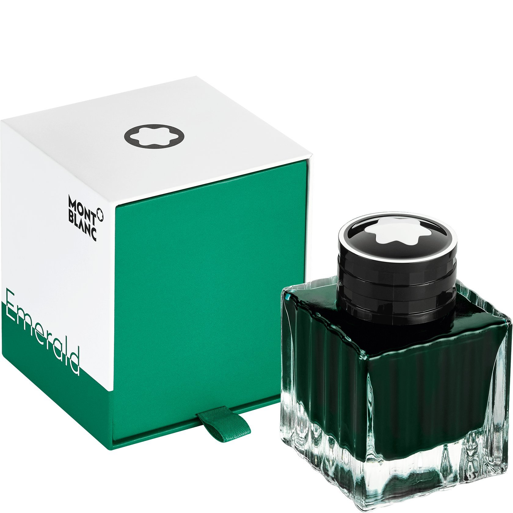 Montblanc 2018 Color Of The Year Emerald Green Bottled Fountain Pen Ink 50 ML by MONTBLANC (Image #1)