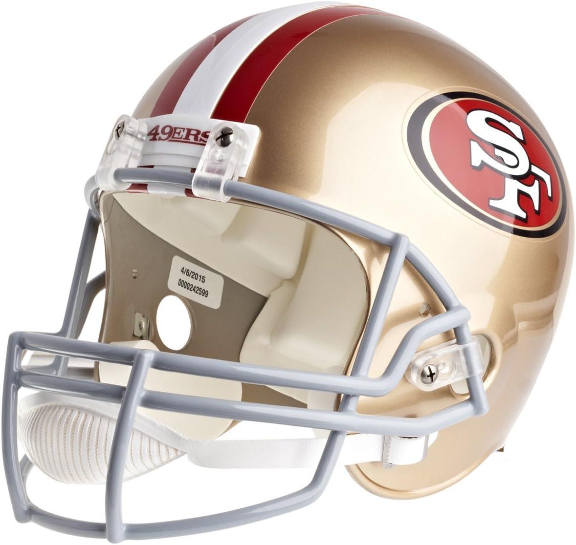 SAN FRANCISCO 49ers NFL RIDDELL MINI POCKET PRO REVOLUTION HELMET LOOSE