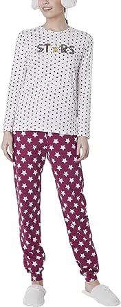 Pijama Mujer Estrellas