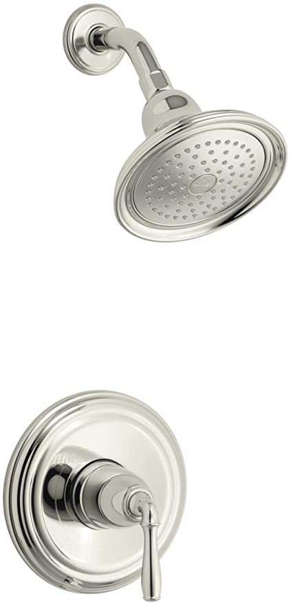 KOHLER K T396 4 SN Devonshire Rite Temp Pressure Balancing Shower Faucet