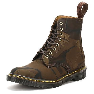 540b78849c940 Amazon.com | Dr. Martens Unisex Pascal HS Camo 8 Eye Boots | Boots