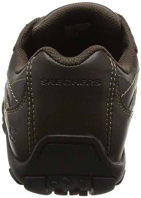 Skechers Diameter Blake 63385 - Zapatillas de cuero, Hombre, Marrón, 42: Amazon.es: Zapatos y complementos