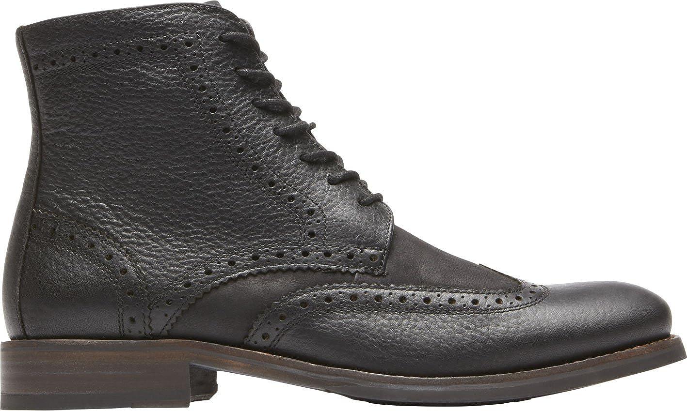 2e11bc372 Amazon.com | Rockport Men's Wyat Wingtip Boot | Chukka