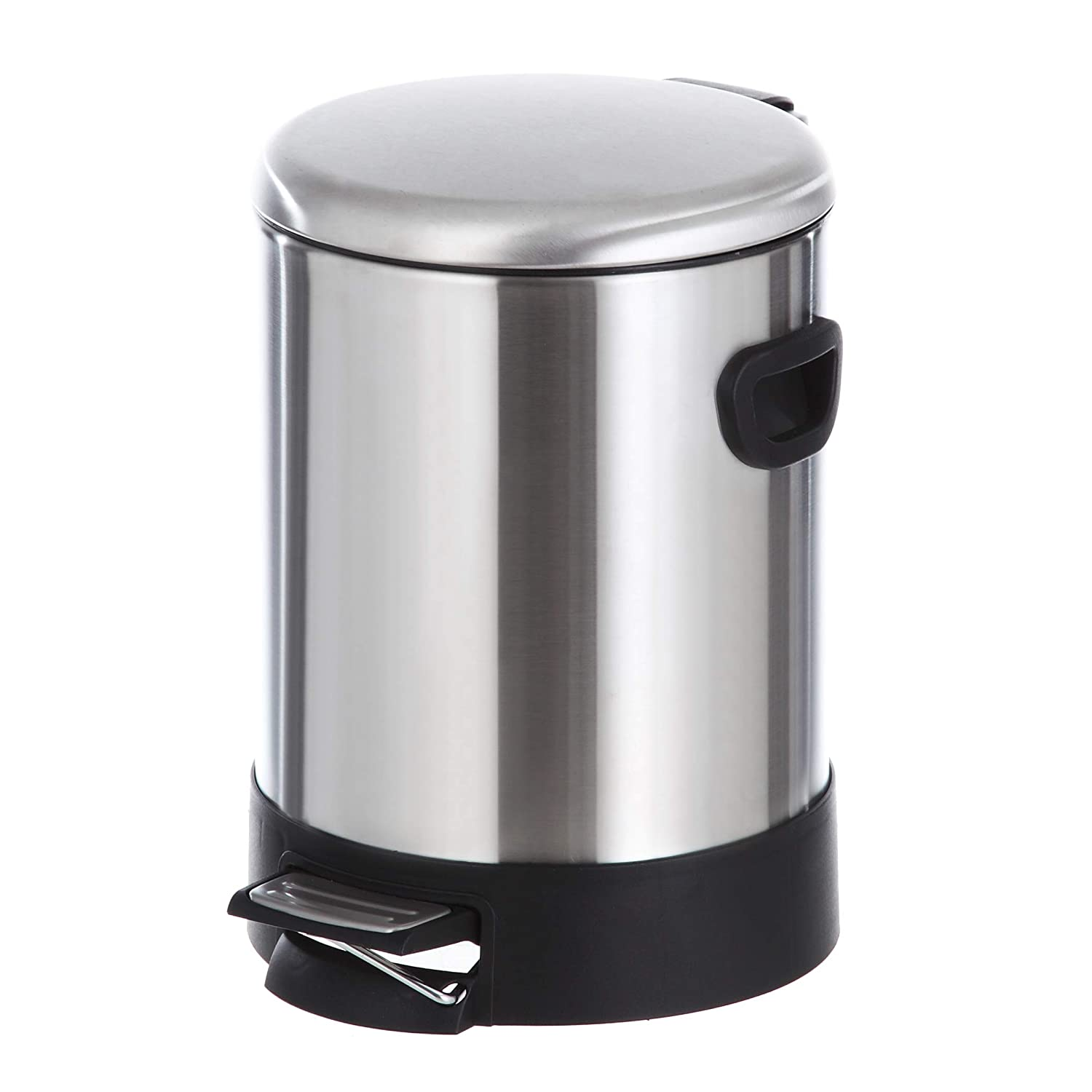 Amazon Com Home Zone Stainless Steel Kitchen Trash Can With Round