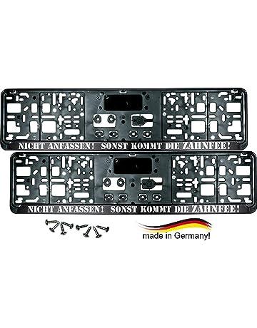 10x KFZ PKW LKW Universal Euro Nummernschildhalter Kennzeichen Halter Träger Set