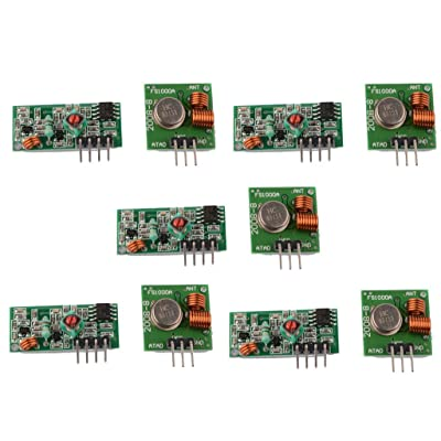 DAOKI 5PCS 315Mhz RF Transmitter and Receiver Link kit for Arduino/ARM/MCU/Raspberry pi Wireless: GPS & Navigation
