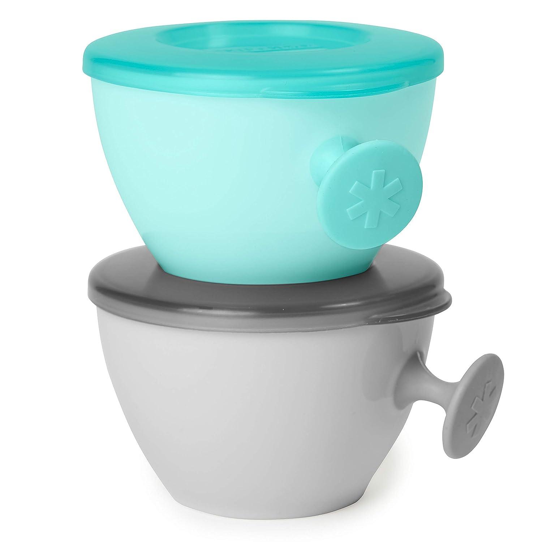 Skip Hop Bowls, Easy Grab Grey/Teal
