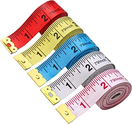 Soft Tape Measure Double Scale Body Sewing Flexible Ruler Measurement Tape Ruler Tape for Sewing Tailor Seamstress Mini Tape Measure 40-inch Measuring Tape