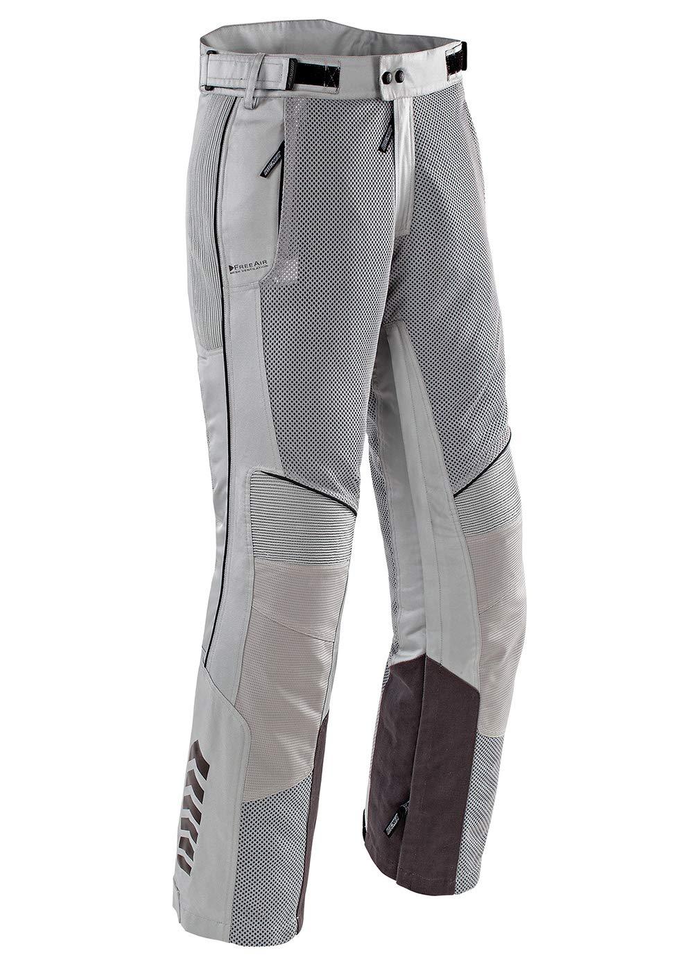 Joe Rocket Phoenix Ion Men's Mesh Motorcycle Pants (Silver, XX-Large Short) 1518-3616