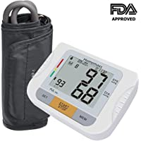 Homemaxs Upper Arm Blood Pressure Monitor with Adjustable
