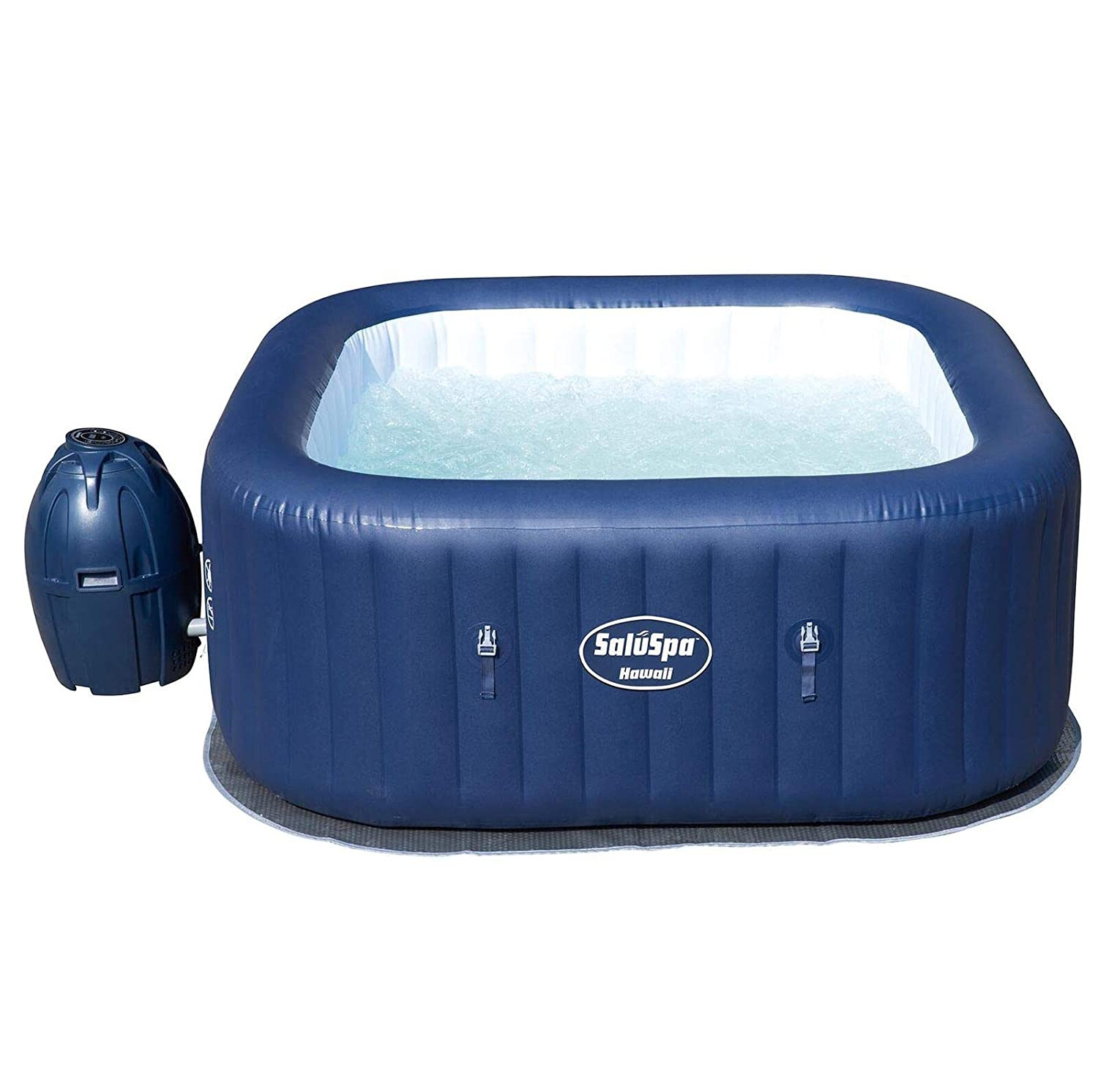 Amazon.com: SaluSpa Hawaii 6 Person Portable Inflatable Spa ...