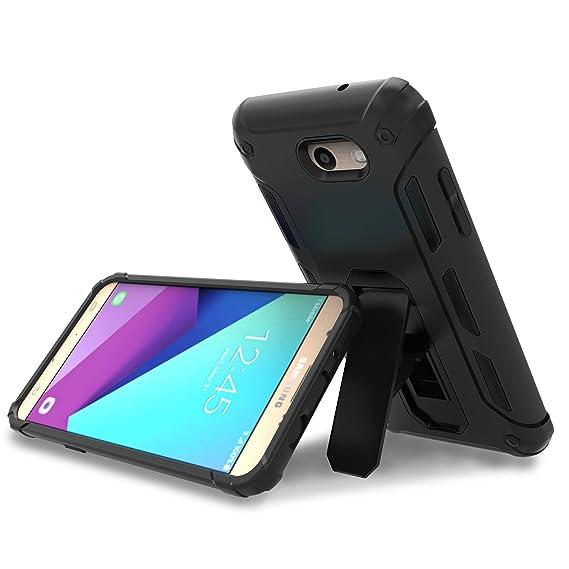 separation shoes 56a73 16f3f Amazon.com: 2017 Samsung Galaxy J7 Prime Case, OMOTON Hybrid Dual ...