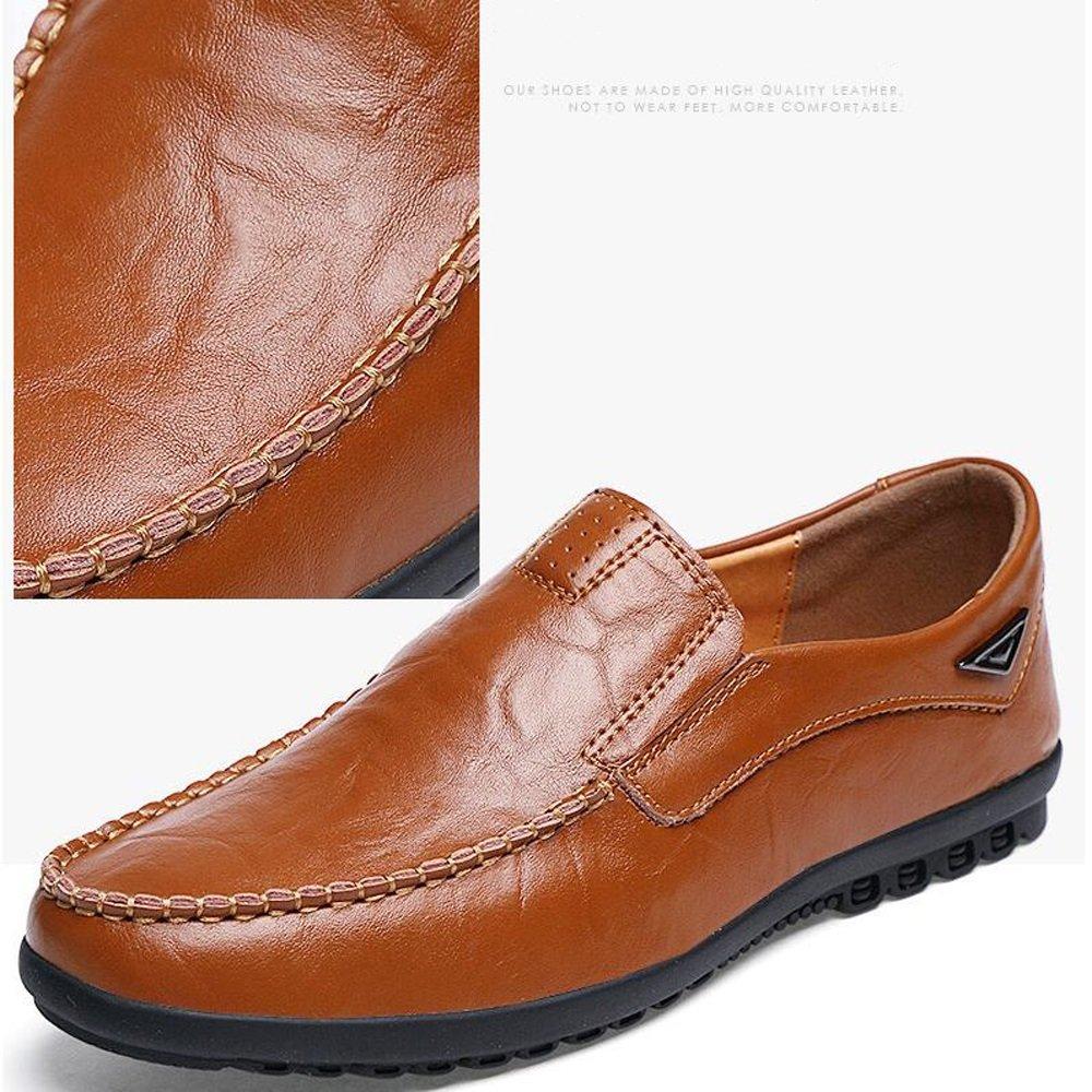 Herrenschuhe Leder Frühling Sommer Sommer Sommer Herbst Licht Sohlen Comfort Loafers Wanderschuhe Casual Office Business Bean Schuhe Männer 89dc57
