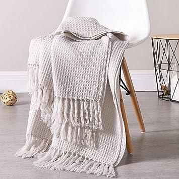 Amazon.com: JedaJeda - Manta suave de punto cálida para sofá ...