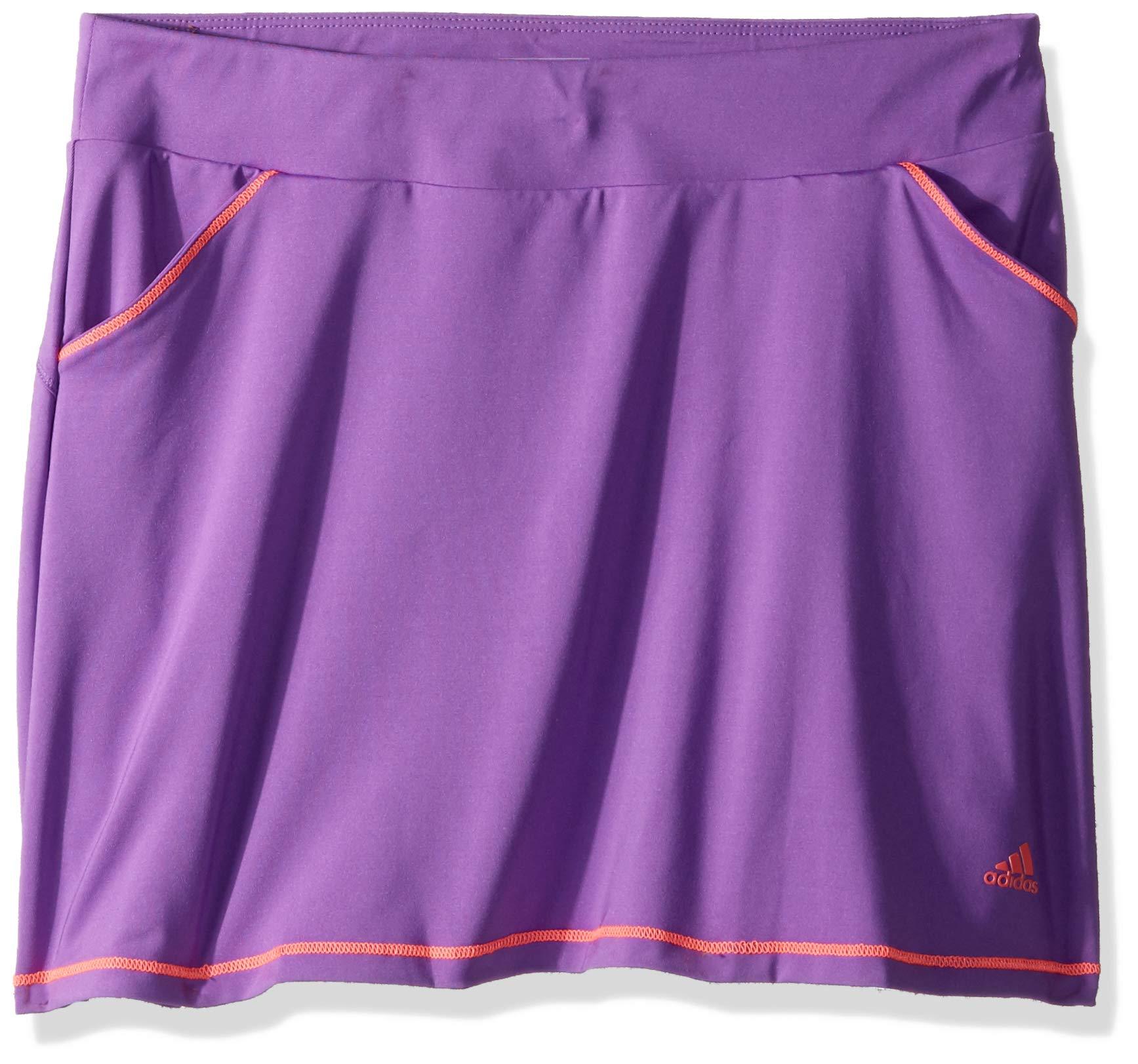 adidas Golf Printed Golf Skort, Active Purple, Medium by adidas