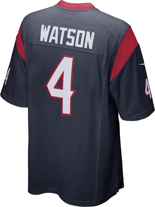 19aef5d07 Amazon.com: Deshaun Watson Houston Texans Nike Youth 2017 Draft Pick Game  Jersey - Navy (Yth Small (8)): Clothing