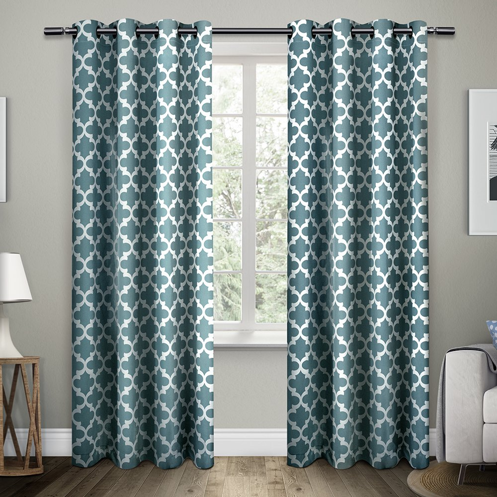 print valances curtains animal products drape product tulle window sheer curtain blue paradise shading image panel