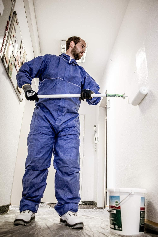 Nitras Polysafe Basic II Einweg-Schutzanzug der Kategorie 3 Chemie-Schutz