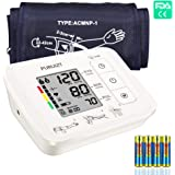 PURUIZT Upper Arm Blood Pressure Monitor with Accurate Digital Automatic Measurement Blood Pressure Monitor with Large