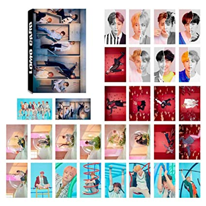 Youyouchard Kpop 30pcs Bts Love Yourself 結 Answer Lomo Card Version S E L F Bts Bangtan Boys Photocard J Hope Jimin And A Small