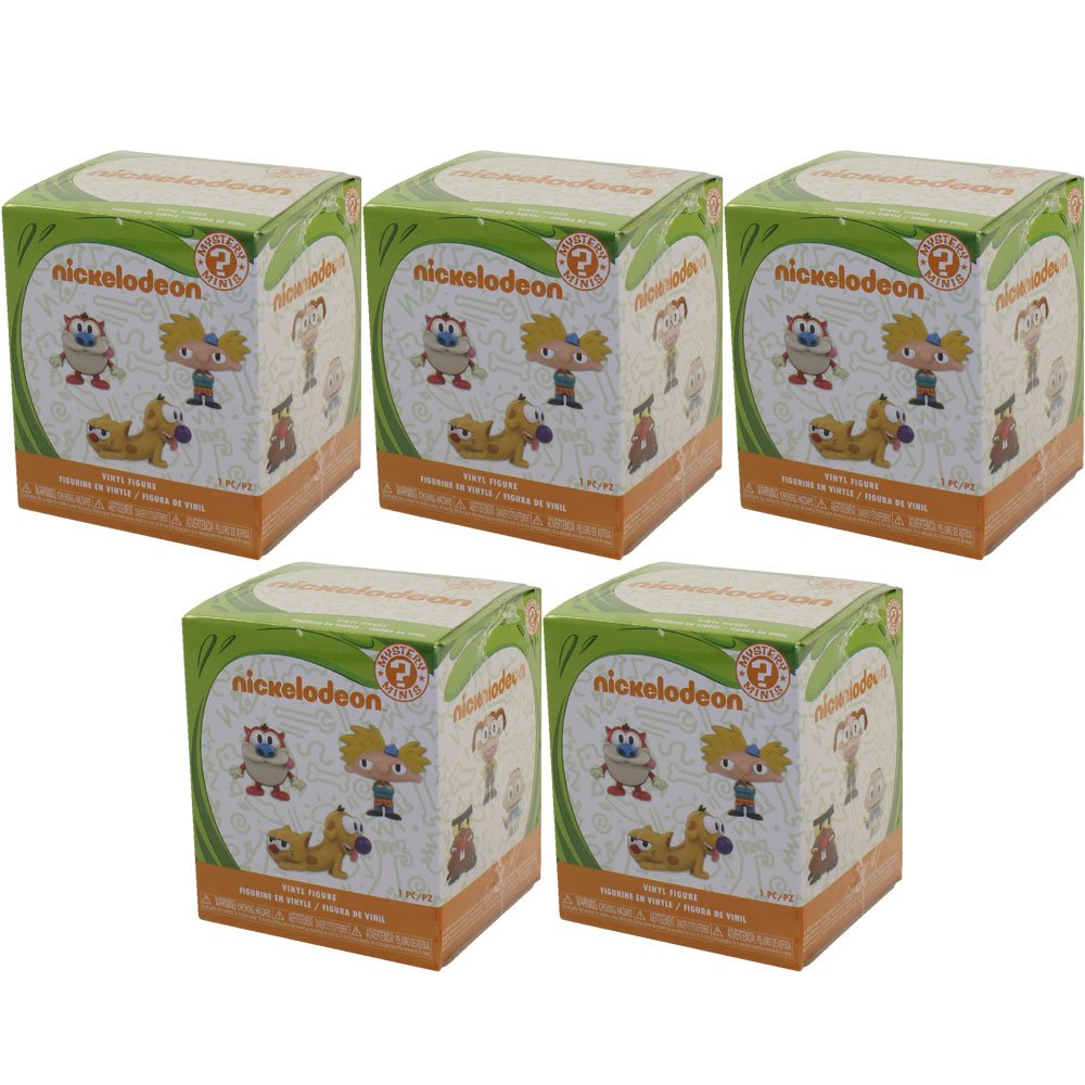 90s Nickelodeon 5 Pack Lot Funko Mystery Minis Vinyl Figure BLIND BOXES