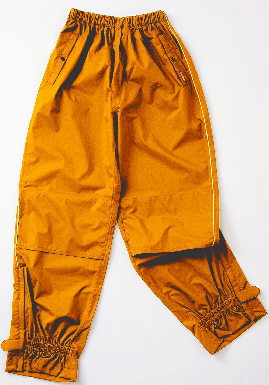 ワールドマーチ レインパンツ 全2色 全5サイズ オレンジ S 防水透湿 反射テープ付き [正規代理店品] B019RVQINKオレンジ Small