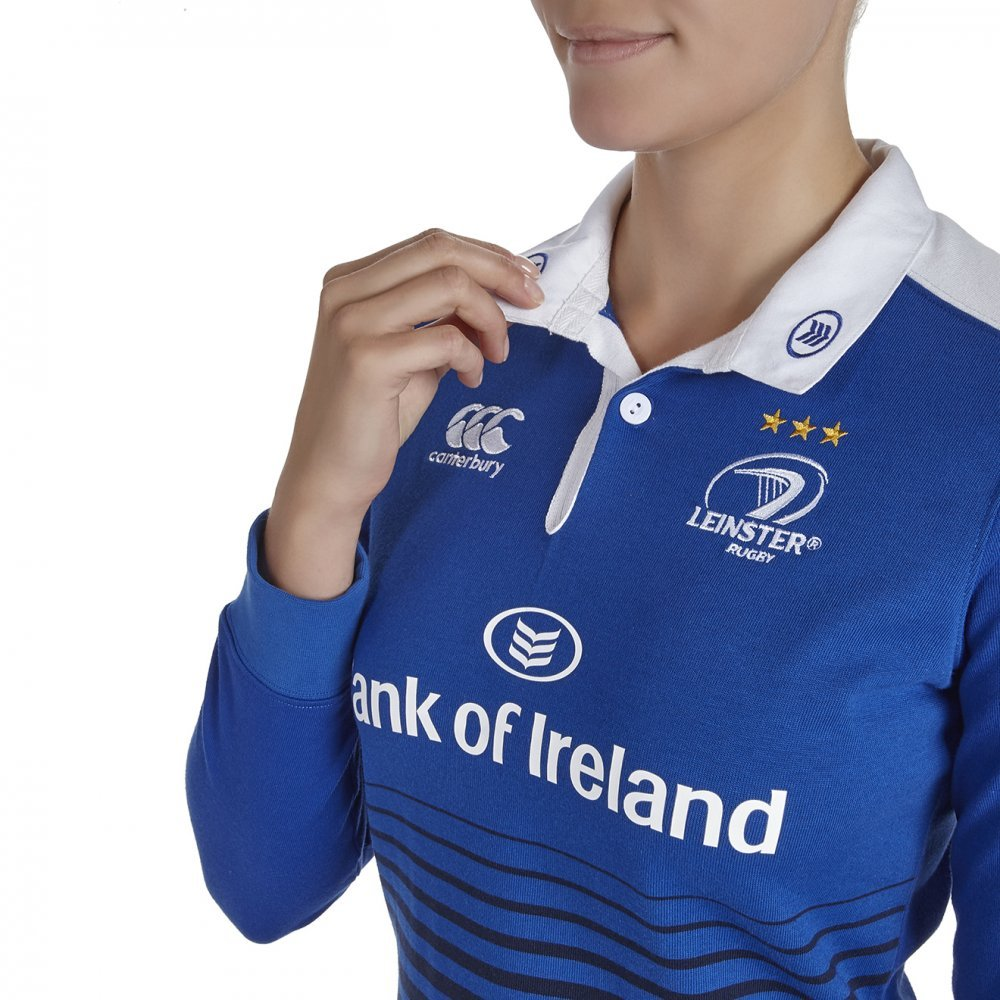 2015-2016 Leinster Home Classic Rugby Shirt (Womens): Amazon.es ...
