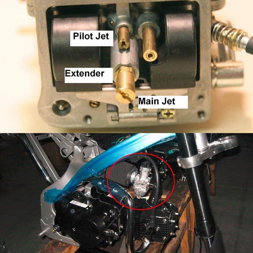 GTSpeed PWK 80//82//84//86//88//90//92//94//96//98 Carburetor Main Jet Kit Set