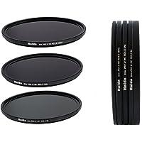 HAIDA Slim PRO II Digital MC Neutral Graufilter Set bestehend aus ND8, ND64, ND1000 Filtern 67mm inkl. Stack Cap Filtercontainer + Pro Lens Cap mit Innengriff