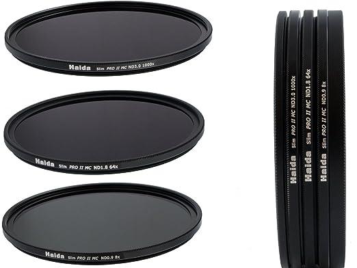 2 opinioni per Nuovo: HAIDA PRO II Slim Digital MC- Set filtri neutri composto da ND8, ND64,