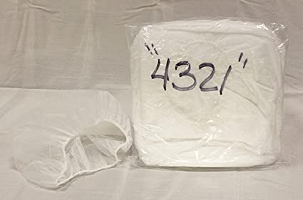 """Disposable 18/"""" Black Restaurant Medical Nylon Hair Net 400 Caps by Shield-Safety"""
