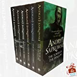 Witcher Series Andrzej Sapkowski Collection 6 Books Bundle With Gift Journal (The Tower of the Swallow, Time of Contempt, Blood of Elves, Baptism of Fire, The Last Wish, Sword of Destiny)
