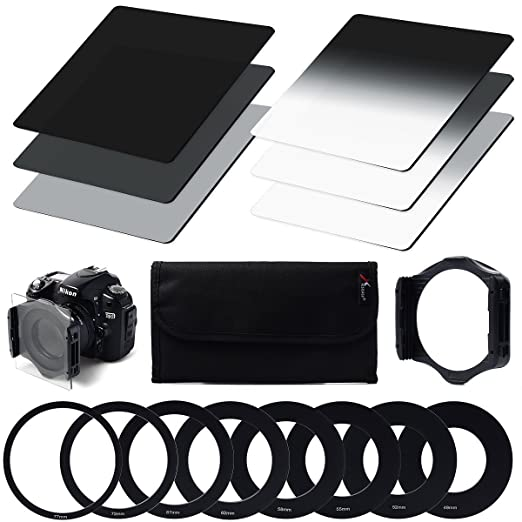 543 opinioni per XCSOURCE® Densità Neutra (ND) Filtro Set (ND2 ND4 ND8) + Graduale densita neutra