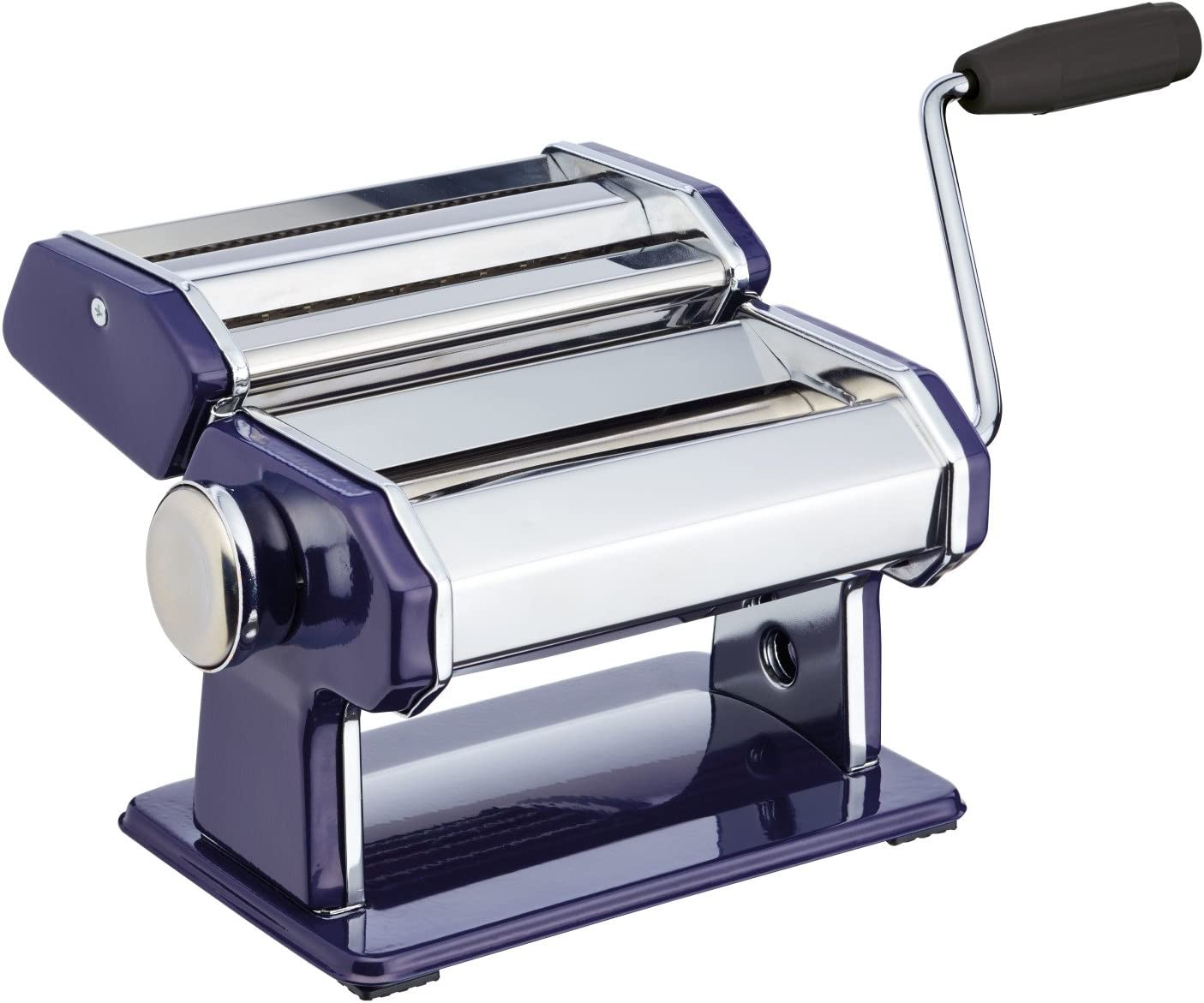 World of Flavours Stainless Steel Pasta Maker Machine Blue
