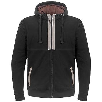 GERMAS Biker chaqueta con capucha/Kevlar R – Sudadera deportiva con inserciones reflectantes, color