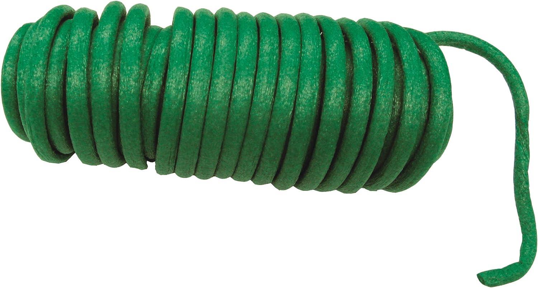 Mit pflanzenschonendem Gummi/überzug Gr/ün // Bindedraht // Baumbinder mit Drahtkern // FLOR78735 Flexibler /& biegsamer Gartendraht Connex Baumanbinder 10 m Frei zuschneidbar